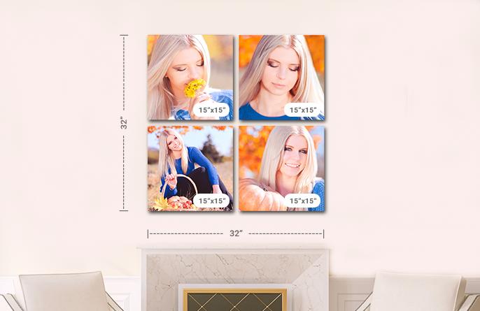4 Panel Displays