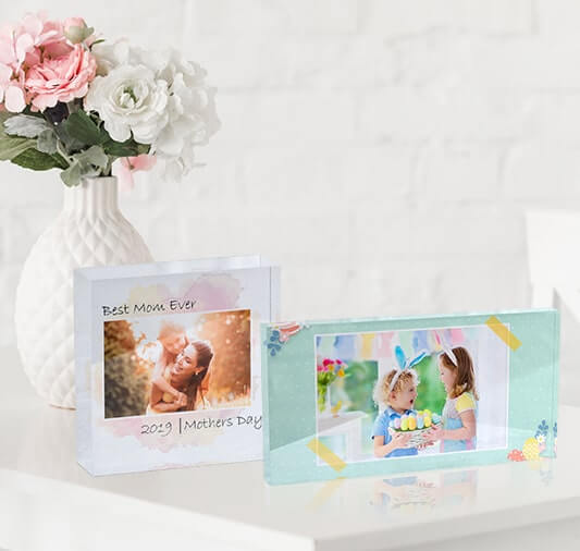 Acrylic photo blocks- a premium product for gifting