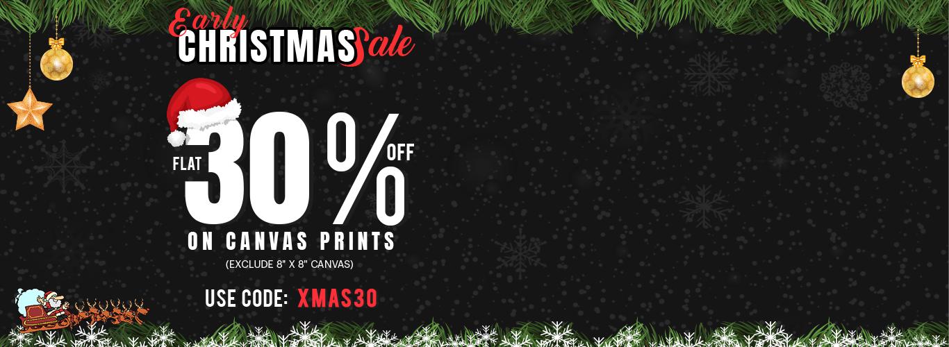 Canvas Prints - Early Christmas Sale