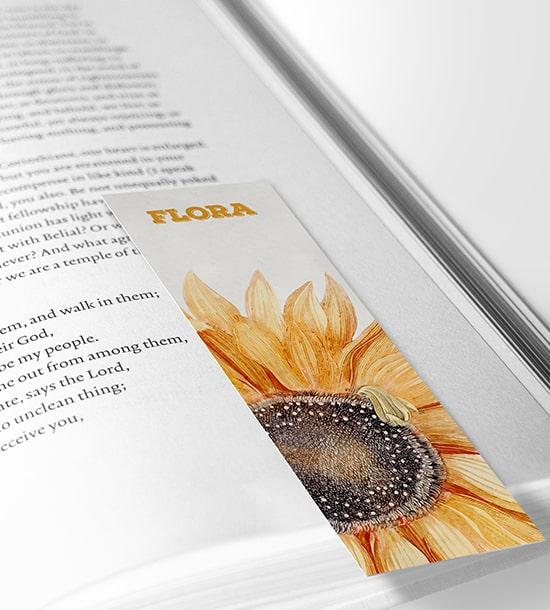 Personalised Photo Bookmark