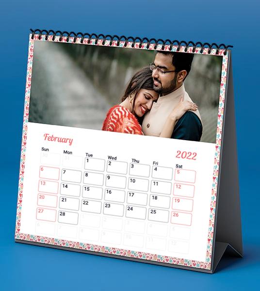 Custom Desk Calendar Online in India