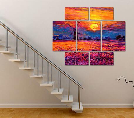 3 panel canvas prints