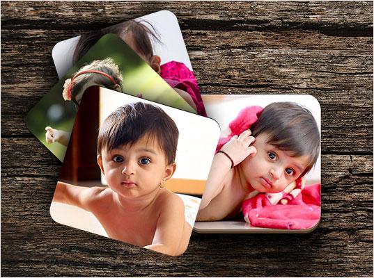 Custom Printed Photo Coasters