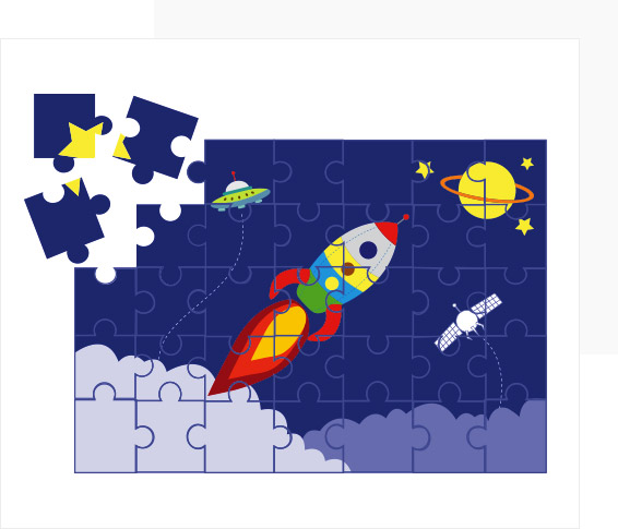 Personalised Picture Puzzles for Kids