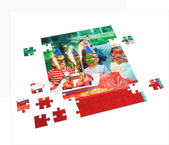 Get to Make Photo Puzzle Collage with Your Pictures!