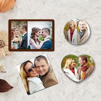 Acrylic Photo Magnets
