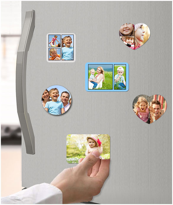Custom Photo Magnets