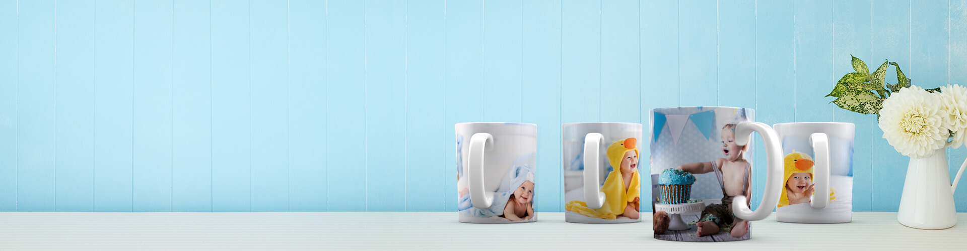 Photo Mugs - Make a Personalized Photo Mugs Online in India|CanvasChamp