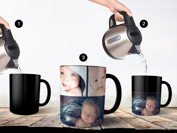 Printing Personalised Magic Mugs Just Became Fun!