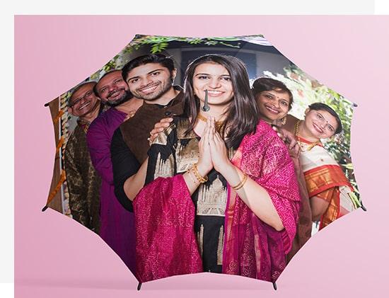 Personalised Photo Umbrellas